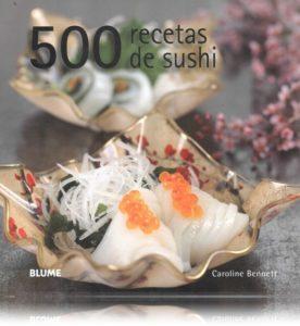 500 recetas de sushi t
